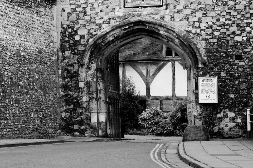 Pilgrims – one of Winchester's many treasures!