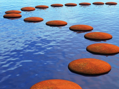 Stepping stones…