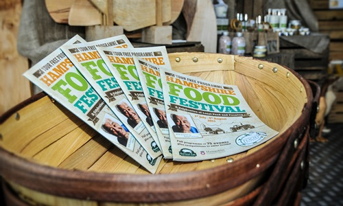 The Hampshire Food Festival is now on!